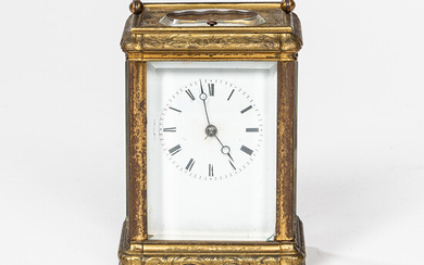 French Hour-repeating Carriage Clock