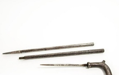 Gadget Dagger And Suitcase Cane