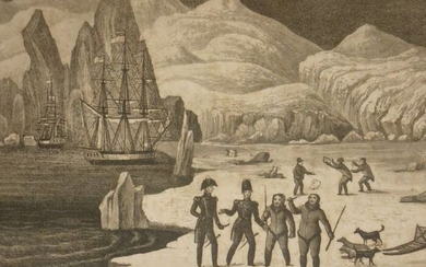 John Dennett - The voyages and travels of Captains Parry, Ross, Franklin, and Mr. Belzoni - 1835
