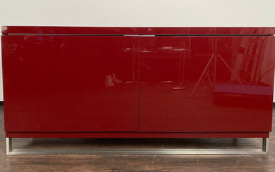 RODOLFO DORDONI. In the manner of. RODOLFO DORDONI. In style of. modern sideboard with sled base.