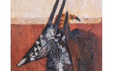 Ruth Levy (South Africa 1924 - 2017): CHIWARA ANTELOPE HEAD ...