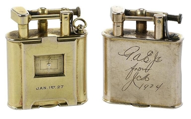 Two English Gold Lighters