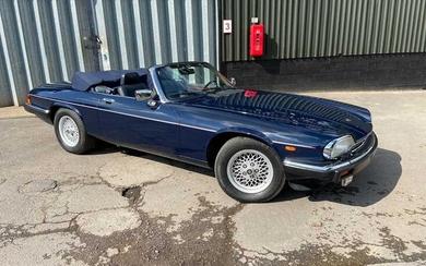 1990 Jaguar XJS One private owner and just 14,936 miles from new