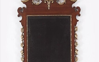 A Chippendale Style Mirror.