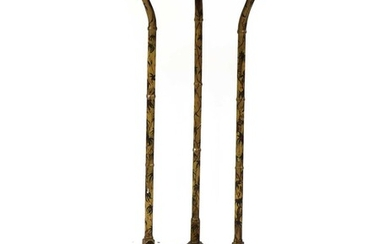A painted and gilded Jardinière stand
