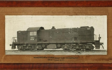 AN ALCO BUILDER'S PHOTO OF EARLY SWITCHER ATTR ROCK ISL