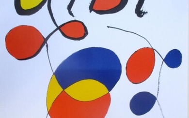 NOT SOLD. Alexander Calder: ALBI. Usigned Lithographic poster for the Musee Toulouse Lautrec. Sheet size 90.5 x 59.5 cm. Unframed. – Bruun Rasmussen Auctioneers of Fine Art