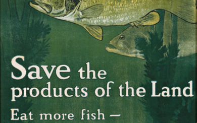 CHARLES LIVINGSTON BULL (1874 1942) SAVE THE PRODUCTS OF TH