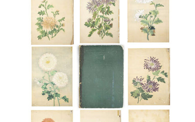 CHINESE SCHOOL (CHINA, ANONYMOUS, ACTIVE QING DYNASTY) Flowers,...
