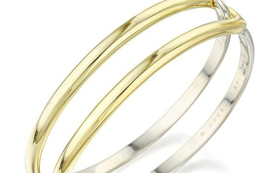 Cartier Two-Tone Gold Bangle