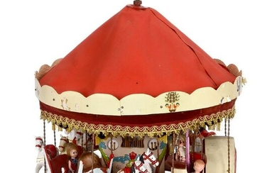 Fairground Working Model of a Horse Carousel