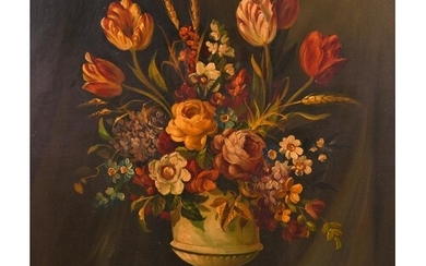 Georges Mallet (20th Century) French. Still Life of Flowers ...
