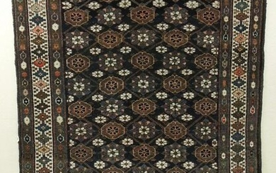 Persian Hand Knotted Rug.
