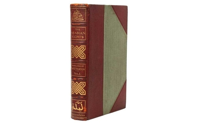 THE BOOK OF THE THOUSAND NIGHTS AND A NIGHT England, 1897, translated by Captain Sir Richard Francis Burton
