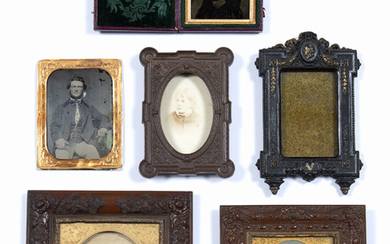 Thermoplastic ambrotype frame
