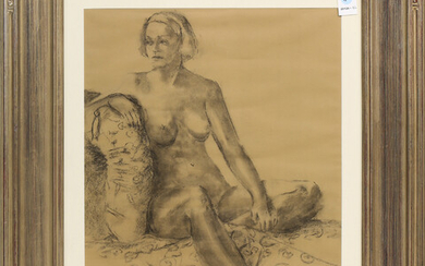 Work on Paper, Nude Woman