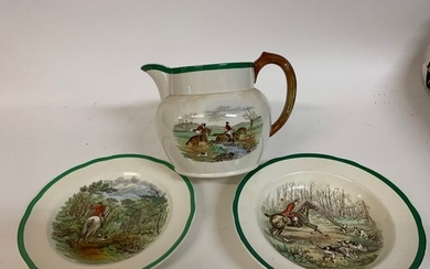 A Copeland Spode Going to Halloa part tea and dinner and ser...