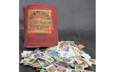 A Lincoln stamp album, containing a collection of Great Brit...