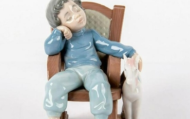 All Tuckered Out 1005846 - Lladro Porcelain Figurine