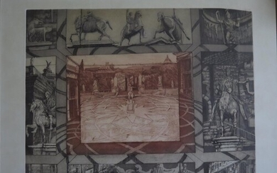 Cassell, Architectural Lithographic Print 1975, 45/75, Signe...
