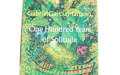 """First American Edition """"One Hundred Years of Solitude"""" by Gabriel García Márquez"""