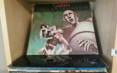 Good Collection of 60's-70's Rock & Blues Vinyl LP Records i...