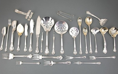 """Gorham """"Chantilly"""" Sterling Silver Serving Pieces"""