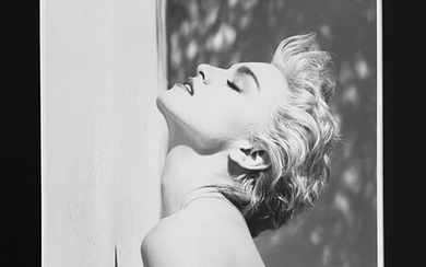 """Herb Ritts, """"Madonna"""" True Blue, Hollywood"""