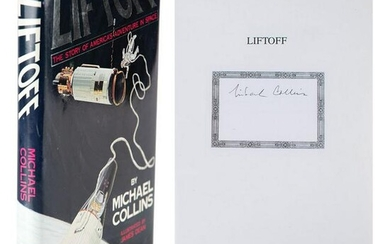 Michael Collins Signed Book