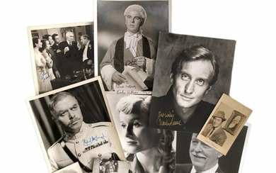 Photograph Collection.- Actors and Entertainers