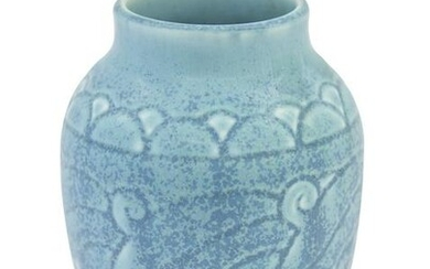 Rookwood Pottery 2854 Vase with Arts and Crafts Design