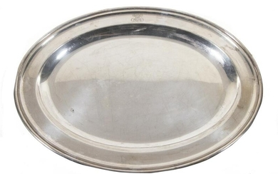 VICTORIAN STERLING SILVER TRAY