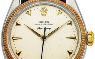 54164: Rolex, Vintage Steel And Gold Oyster Perpetual A