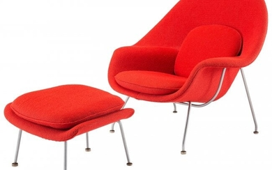 67064: Eero Saarinen (American, 1910-1961) Womb Chair w