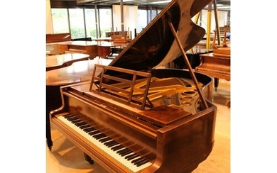 Blüthner (c1923) A 6ft 3in grand piano in a mahogany case on...