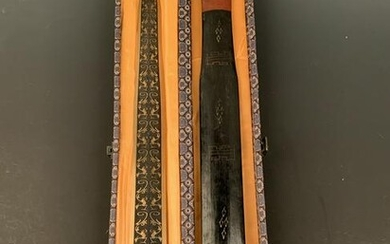 Chinese Gilt Bronze Phoenix Sword