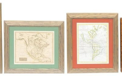 Collection of 4 Vintage Maps, To Include H. Moll