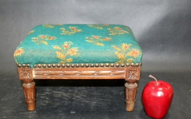 French Louis XVI style footstool
