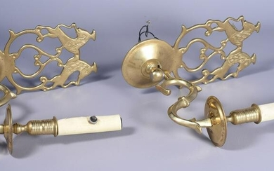 Pair of Virginia Metalcrafters Wall Sconces
