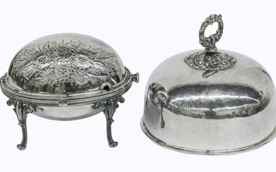 Silver Plated Dome Top Vegetable Server Plus