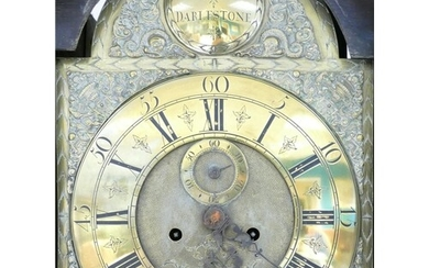 18th or 19th century brass faced Longcase clock: With brass ...