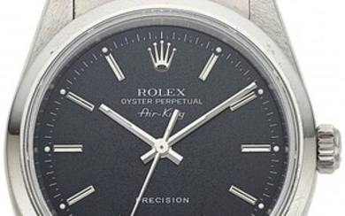 54165: Rolex, Steel Oyster Perpetual Air King Precision