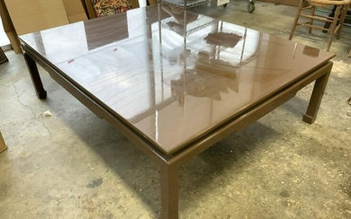 Asian Lacquered Coffee Table