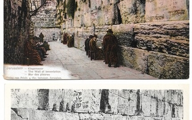 Collection of 7 Postcards of the Western Wall