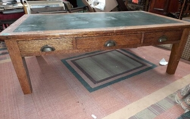Large Vintage Oak Coffee Table or Centre Table (ideal for a ...