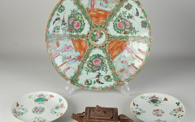 Lot Chinese porcelain (4)