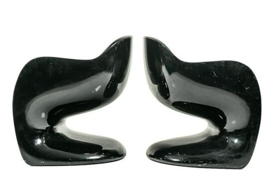 Modern Space Age Club Chairs after Verner Panton