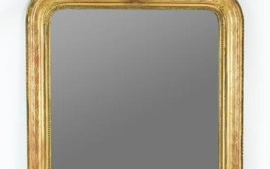ORNATE GILT CARVED & GESSO WALL MIRROR