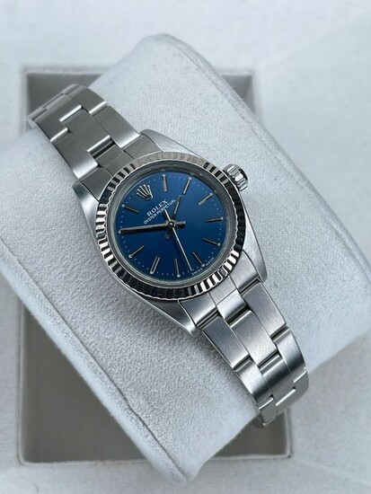 """Rolex - Oyster Perpetual - """"NO RESERVE PRICE"""" - 76094 - Women - 2000-2010"""