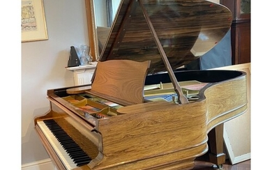 Steinway (c1886) A 6ft 'old style' 85-note Model A grand pia...